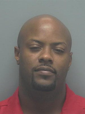 Tacuma Ivan Horrobin, 34, of Lehigh Acres, was arrested on 17 gun and drug-related charges.