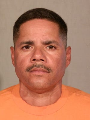 John Albert Campos is suspected of killing retired Bakersfield, Calif., police Officer Frank Pascua on Dec. 24, 2015.
