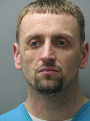 Robert Coates,35, was charged with attempted vehicle theft and criminal mischief.