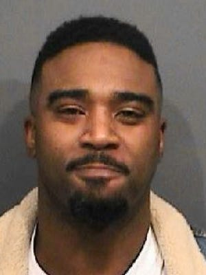This Sunday, April 3, 2016 photo provided by the Westerville Police Department shows former Ohio State quarterback and Heisman winner Troy Smith, who was arrested on charges of driving under the influence and marijuana possession.