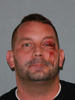 John J. Plass III, 34, of Poughkeepsie, was charged with Aggravated Driving While Intoxicated by state police.
