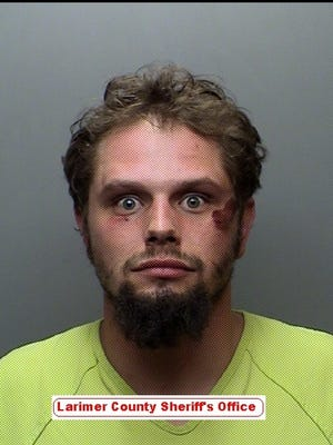 Les Austin Johnston, 26, was jailed Thursday after an alleged road rage incident.