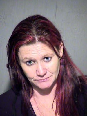 Natasha Ann Geach is accused of spraying legal documents with liquid methamphetamine and sending them to inmates in Fourth Avenue Jail.