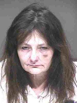 Maria C. Soria, 57, was arrested in the shooting of her husband Thursday.