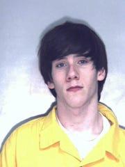 Tyler Eldridge is one of two men accused of breaking