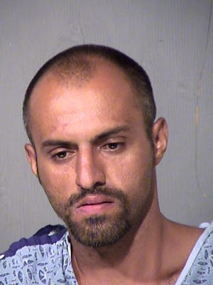 Malik Alsaedi was apprehended by police after leading them on a wild chase through a Glendale neighborhood following a robbery.