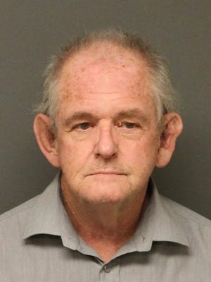 Robert Lawson Carnochan is seen Thursday, April 28, 2016 in this mugshot photo provided by the Mohave County Sheriff's Office in Kingman, Ariz. Carnochan, a Canadian citizen who has been living illegally in the U.S., is a person of interest in the disappearances of three women.
