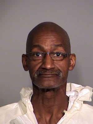 Robert Evans, 58, was charged with attempted murder and other crimes int he shooting of his estranged wife.