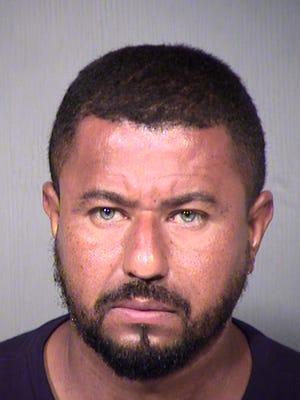 Gabriel Fernando Quinones-Garcia is being held on suspicion of four counts of sexual abuse.