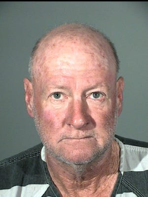 Clinton Gore, 59, of Carson City was charged with gross misdemeanor threats, felony aggravated stalking and felony arson.