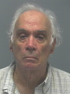 Eugenio Pepe. Accused of crashing into two police vehicles, a tow truck and a crashed car.
