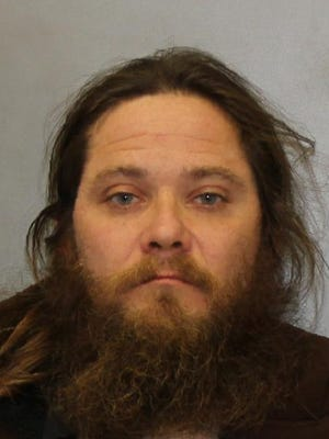 Jesse R. Hall is charged with driving while intoxicated and making terroristic threats, among other charges.
