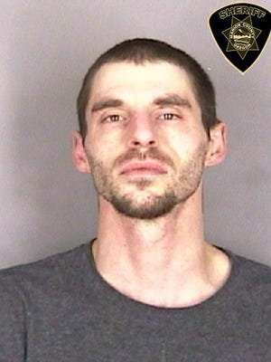 Casey Hurley, 31, of Salem, was arrested on charges of mail theft, vehicle theft and methamphetamine possession after a Stayton police officer spotted him driving a stolen car Thursday.