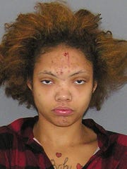 The Hamilton County booking mug of Dominique from Sept. 27, 2016.