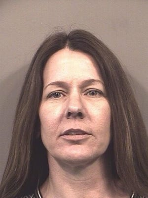 Karen Fellers of Indianapolis has been charged with trafficking drugs into the Johnson County jail.