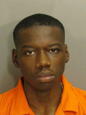 Kennedy Wilson is charged with robbery first.