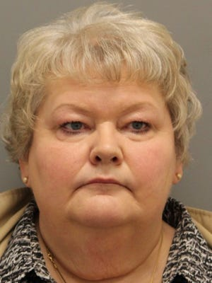 Joanne F. Bogardus' state nursing license has been suspended following her arrest on forgery charges. Bogardus is accused of using the forged documents to obtain prescription medication from her New Castle-area employer.