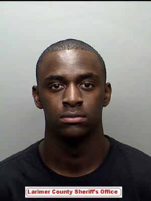 Booking photo of CSU football player Braylin Scott, who was arrested Wednesday on felony burglary and theft charges.