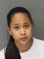 Trisha-Lynette Viado Razon has been charged in the