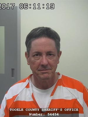 This 2017 file photo provided by the Tooele County Sheriff's Office shows Lyle Jeffs. Jeffs, a polygamous sect leader recaptured after a year on the run in a fraud case is expected to appear in court Wednesday, Sept. 20, 2017. Jeffs is facing federal charges in what prosecutors call a multimillion-dollar food-stamp fraud scheme as well as his escape from home confinement.