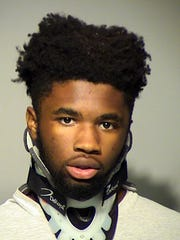 Demetrius D Parks, 17, was charged with burglary and theft.