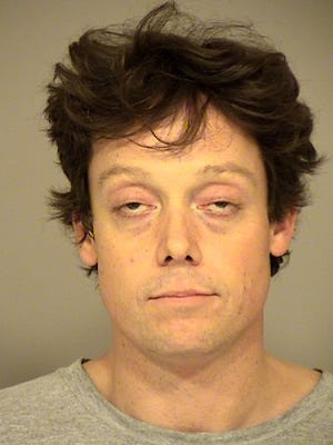 Christpoher Kehr, 37, was arrested Monday in Ventura after a traffic stop yielded drugs, guns and counterfeit money.