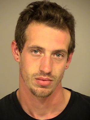 Kyle Dean, 27 of Ventura, was arrested early Monday on suspicion of stabbing a 35-year-old man.