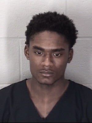 Darius Printup's mugshot from his March 19, 2018, arrest.
