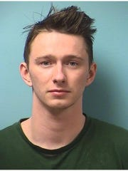 Brandon Thomas Nygren, booked in Stearns County Jail