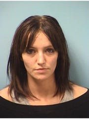 Alicia Allen, 25, arrested on Thursday March 29, 2018.