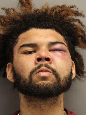Elijah H. Peterson, 22, of Dover, has been charged with resisting arrest, second-degree assault on a law enforcement officer, third-degree criminal trespass, and two counts of criminal mischief.