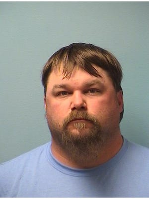 Bradley Robert Halverson, 36, booked in Stearns County Jail on April 28, 2018.