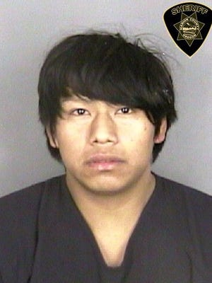 Juan Santos-Gonzalez, 22, of Woodburn, was sentenced to eight years and four months in prison.