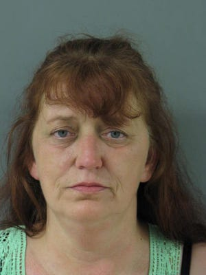 Kimberly F. Church., 52, of Frankford, has been charged with charged with possession of a deadly weapon during the commission of a felony, aggravated menacing, third degree assault, terroristic threatening and criminal mischief.