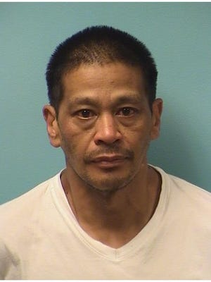 Jaime Christopher Balinbin, 45, booked in Stearns County Jail.