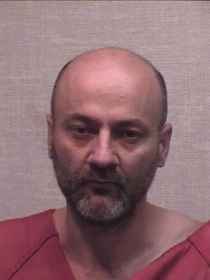 Mugshot of Curtis Gilbert Collman, II provided by Jackson County Sheriff's office.