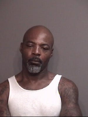 Robert Junior Johnson, 49, DOOB 4/20/1971, charged with first-degree murder in the May 25, 2020, shooting of Rod Jones in Columbia, Missouri