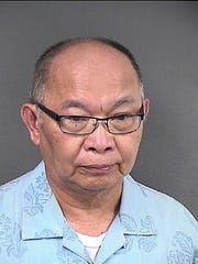 The Rev. Romannilo S. Apura, pastor  of St. Martha Parish in Point Pleasant, was arrested Thursday.