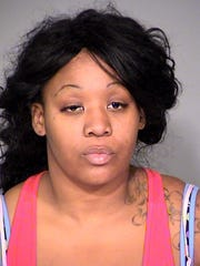 Veronica Perry, member of the Get Money Team, was arrested last year and charged with corrupt business influence and theft charges.