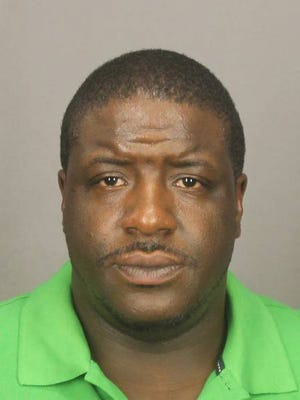 Roosevelt Scott, 38, is accused of burglary, stabbings and criminal possession of a weapon. He was arrested by the U.S. Marshals Fugitive Task Force on March 19, 2015.