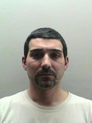Plumber JonPaul Angione, 39, was arrested March 3 on a charge of third-degree grand larceny, a felony.