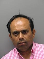 Dipeshkumar Patel was arrested for a drunk driving