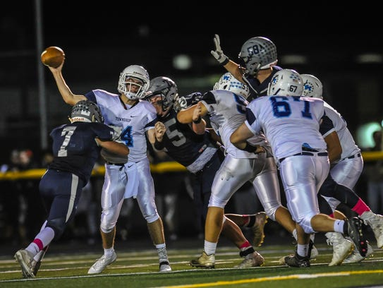 Freehold Township at Howell football in Howell on Oct.