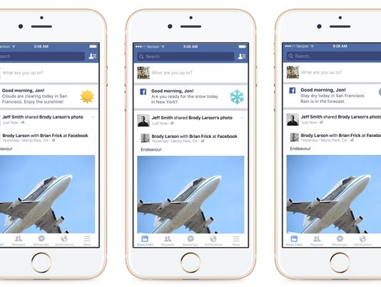 Coming soon to Facebook: Weather updates