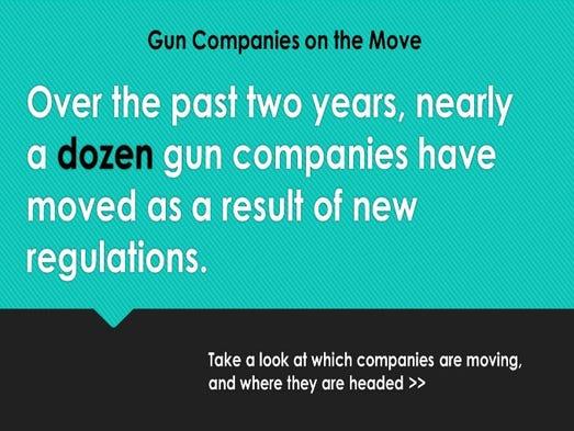 Gun Companies on the Move