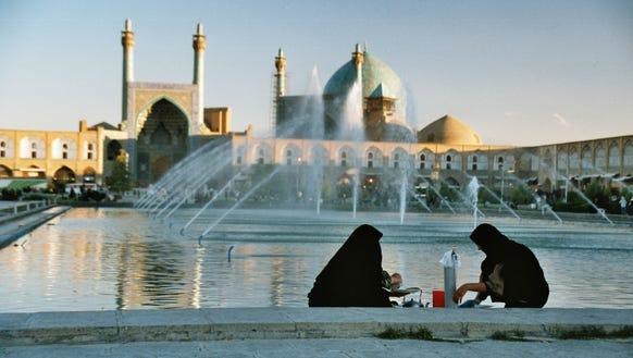 Taboo travel Iran Imam Square IRan - Credit MIR Corp