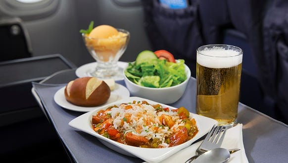 Delta Airline To New York Free Drinks