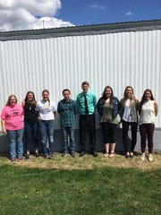 The Kewaunee County Senior Dairy Judging team placed