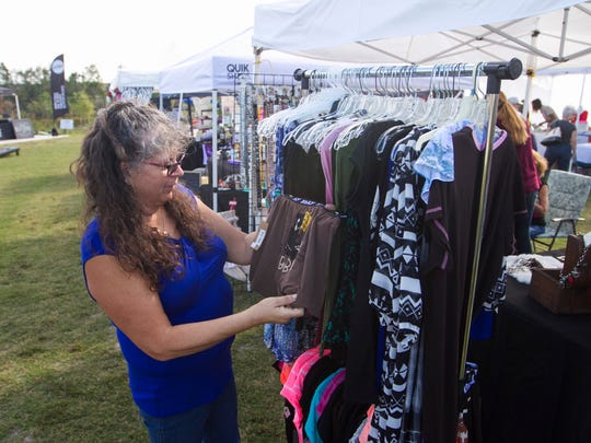 Val Reeves, of Naples, shops at Cowgirls Fashion Boutique