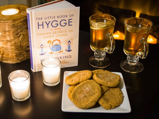 Melody Boyd's hygge party was all about warmth: textures,